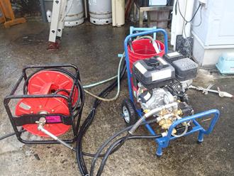 高圧洗浄機のイメージ